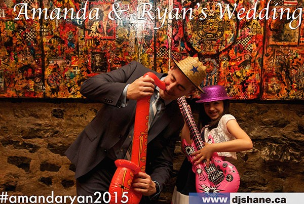 Photo Booth de Ryan et Amanda #amandaryan2016